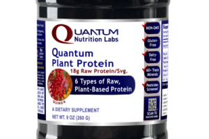 QUANTUM QUINOA 6 TYPES OF RAW, PLANT-BASED PROTEIN 18G RAW PROTEIN/SVG. DIETARY SUPPLEMENT
