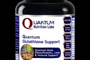 QUANTUM-STATE GLUTATHIONE DETOXIFICATION, LIVER & IMMUNE SUPPORT DIETARY SUPPLEMENT VEGETARIAN CAPSULES