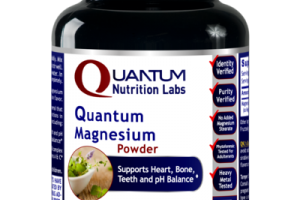 QUANTUM MAGNESIUM SUPPORTS HEART, BONE, TEETH AND PH BALANCE DIETARY SUPPLEMENT POWDER