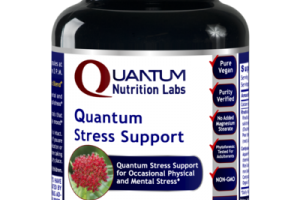 QUANTUM STRESS SUPPORT FOR OCCASIONAL PHYSICAL AND MENTAL STRESS DIETARY SUPPLEMENT VEGETARIAN CAPSULES