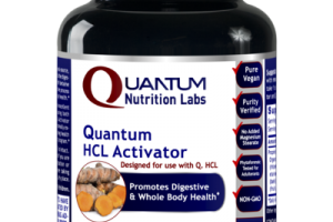 QUANTUM HCL ACTIVATOR PROMOTES DIGESTIVE & WHOLE BODY HEALTH A DIETARY SUPPLEMENT VEGETARIAN CAPSULES