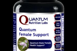 QUANTUM-STATE FEMALE HEALTH SUPPORT DIETARY SUPPLEMENT VEGETARIAN CAPSULES