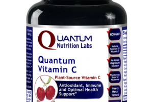 QUANTUM PLANT-SOURCE VITAMIN C ANTIOXIDANT, IMMUNE AND OPTIMAL HEALTH SUPPORT DIETARY SUPPLEMENT VEGETARIAN CAPSULES, ACEROLA CHERRY