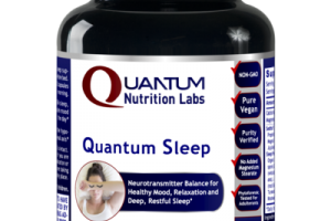 QUANTUM NEUROTRANSMITTER BALANCE FOR HEALTHY MOOD, RELAXATION AND DEEP, RESTFUL SLEEP DIETARY SUPPLEMENT VEGETARIAN CAPSULES