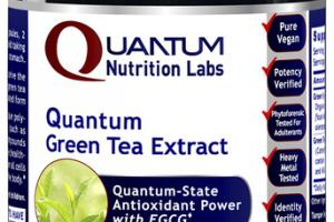 QUANTUM-STATE GREEN TEA EXTRACT ANTIOXIDANT POWER WITH EGCG DIETARY SUPPLEMENT VEGETARIAN CAPSULES