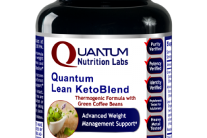 QUANTUM LEAN KETOBLEND ADVANCED WEIGHT MANAGEMENT SUPPORT A DIETARY SUPPLEMENT VEGETARIAN CAPSULES