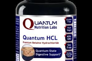 QUANTUM HCL PREMIUM BETAINE HYDROCHLORIDE DIETARY SUPPLEMENT VEGETARIAN CAPSULES