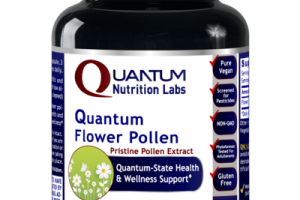 QUANTUM-STATE FLOWER PRISTINE POLLEN EXTRACT HEALTH & WELLNESS SUPPORT DIETARY SUPPLEMENT VEGETARIAN CAPSULES