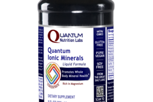 QUANTUM IONIC MINERALS CONCENTRATE PROMOTES WHOLE BODY MINERAL HEALTH RICH IN MAGNESIUM DIETARY SUPPLEMENT LIQUID FORMULA