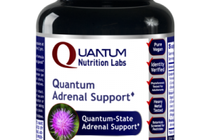 QUANTUM-STATE ADRENAL SUPPORT DIETARY SUPPLEMENT VEGETARIAN CAPSULES