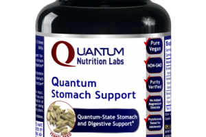 QUANTUM STOMACH SUPPORT A DIETARY SUPPLEMENT VEGETARIAN CAPSULES, FENNEL SEED