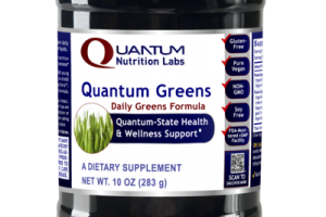 QUANTUM-STATE DAILY GREENS FORMULA HEALTH & WELLNESS SUPPORT DIETARY SUPPLEMENT
