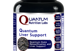 QUANTUM-STATE DETOXIFICATION AND LIVER SUPPORT DIETARY SUPPLEMENT VEGETARIAN CAPSULES