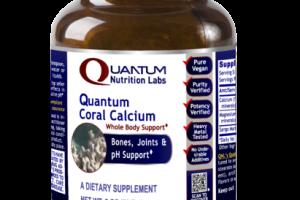 QUANTUM CORAL CALCIUM WHOLE BODY BONES, JOINTS & PH SUPPORT DIETARY SUPPLEMENT