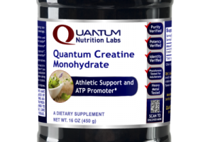 QUANTUM CREATINE MONOHYDRATE ATHLETIC SUPPORT AND ATP PROMOTER DIETARY SUPPLEMENT