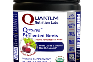 QULTURED ORGANIC, PROBIOTIC FERMENTED BEET NITRIC OXIDE & OPTIMAL HEALTH SUPPORT DIETARY SUPPLEMENT POWDER