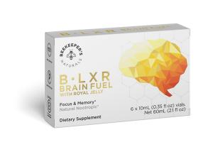 B LXR BRAIN FUEL WITH ROYAL JELLY DIETARY SUPPLEMENT