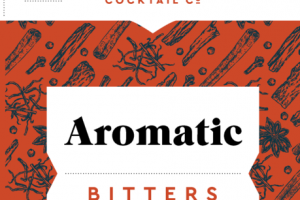 AROMATIC BITTERS GENTIAN ROOT & WHOLE SPICES