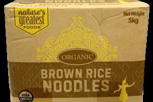 ORGANIC BROWN RICE NOODLES