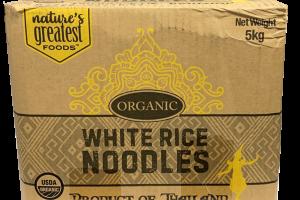 ORGANIC WHITE RICE NOODLES