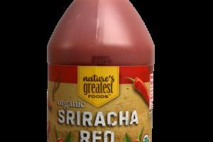 ORGANIC SRIRACHA RED SAUCE