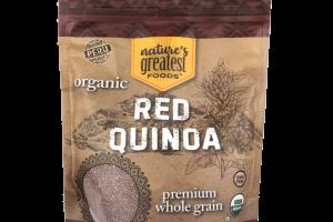 ORGANIC PREMIUM WHOLE GRAIN RED QUINOA