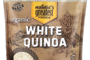 ORGANIC PREMIUM WHOLE GRAIN WHITE QUINOA
