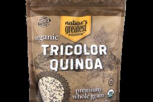 ORGANIC PREMIUM WHOLE GRAIN TRICOLOR QUINOA