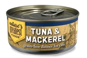 GRAIN-FREE TUNA & MACKEREL DINNER FOR CATS