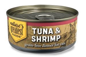 TUNA & SHRIMP GRAIN-FREE DINNER FOR CATS