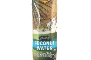 NO SUGAR ADDED ORGANIC COCONUT WATER