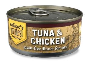 TUNA & CHICKEN GRAIN-FREE DINNER FOR CATS