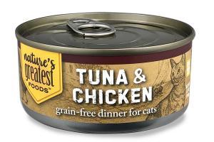 TUNA & CHICKEN GRAIN-FREE DINNER FOR CATS