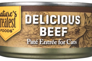 DELICIOUS BEEF PATE ENTREE FOR CATS