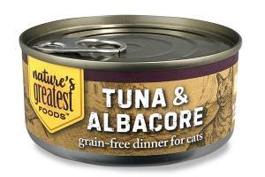 TUNA & ALBACORE GRAIN-FREE DINNER FOR CATS