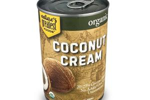 UNSWEETENED ORGANIC COCONUT CREAM