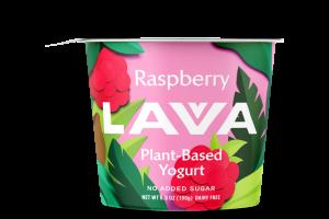 RASPBERRY PLANT-BASED YOGURT