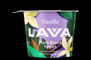NO ADDED SUGAR VANILLA PLANT-BASED YOGURT