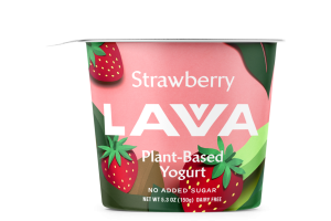 NO ADDED SUGAR STRAWBERRY DAIRY FREE PLANT-BASED YOGURT
