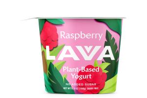 RASPBERRY PLANT-BASED YOGURT