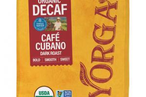 DARK ROAST CAFE CUBANO ORGANIC DECAF 100% ARABICA WHOLE BEAN COFFEE