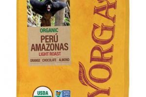 LIGHT ROAST PERU AMAZONAS SPECIALTY GRADE WHOLE BEAN COFFEE