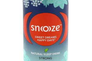 NATURAL SLEEP HERBAL SUPPLEMENT DRINK, STRONG