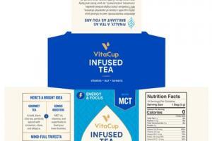BLACK CHAI GENIUS BLEND INFUSED TEA BIODEGRADABLE FILTER BAGS