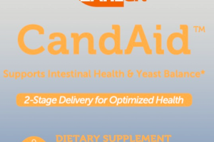 ADVANCED HEALTH SUPPORTS INTESTINAL HEALTH & YEAST BALANCE DIETARY SUPPLEMENT TIMED RELEASE CAPSULES