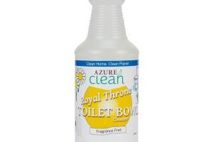 ROYAL THRONE TOILET BOWL CLEANER FRAGRANCE FREE