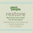 RESTORE HEMP CANNABINOIDS 300 MG BOTANICAL FACE MASK FOR ALL SKIN TYPES