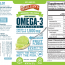 SERIOUSLY DELICIOUS HIGH POTENCY OMEGA-3 EPA/DHA 1,500 MG FROM FISH OIL DIETARY SUPPLEMENT KEY LIME PIE