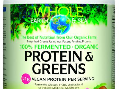 Organic Tropical Protein & Greens Supplement