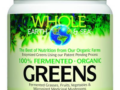 100% Fermented Organic Greens